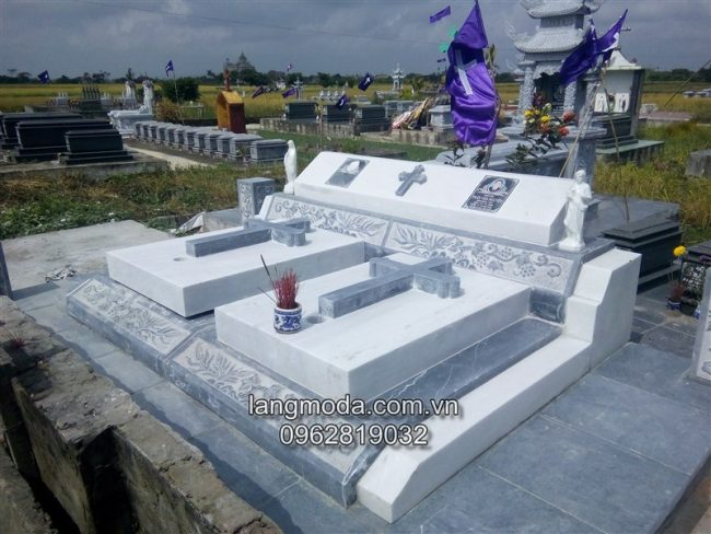 Mộ đạo bằng đá, mộ đạo công giáo, Mộ đạo đá,