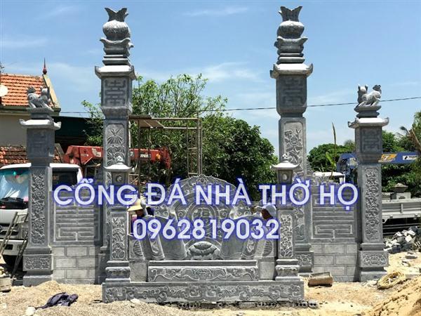 cổng đá nhà thờ họ