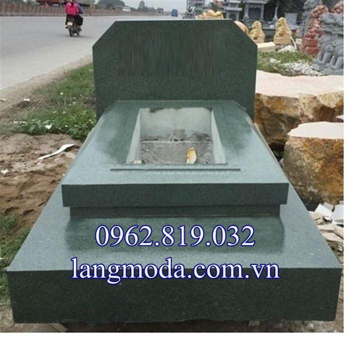 Lăng mộ đá xanh rêu nguyên khối giá rẻ nhất 2019, Lăng mộ đá xanh khối giá rẻ 2019