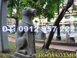 28 mẫu tượng con chó đá phong thủy đẹp thuần Việt giá rẻ
