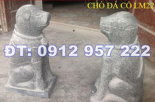 28 mẫu tượng con chó đá cổ trong phong thủy đẹp thuần Việt giá rẻ