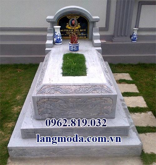 mộ đá đẹp giá rẻ, mẫu mộ giá rẻ, Mộ đá giá rẻ 07