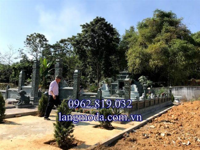 18 mẫu mộ đá xanh rêu đẹp cao cấp giá tốt