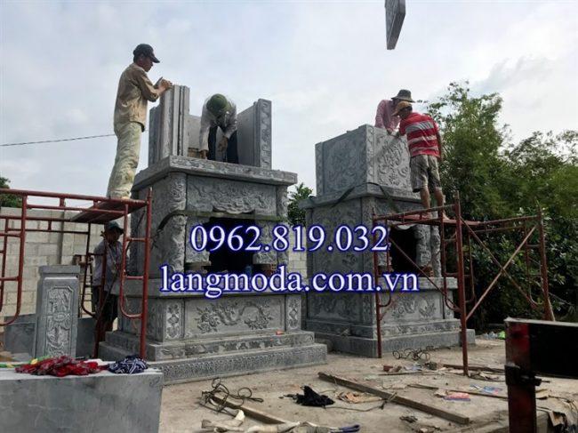 Lắp đặt mộ tháp đá tại hồ chí Minh - sài gòn