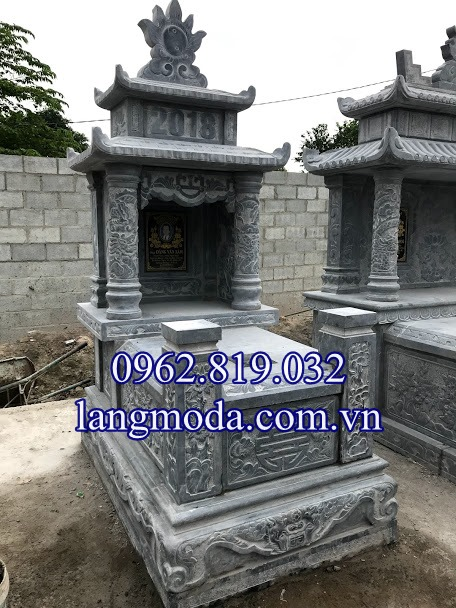 Lắp đặt ngôi mộ đá đơn tại Củ Chi - Sài Gòn