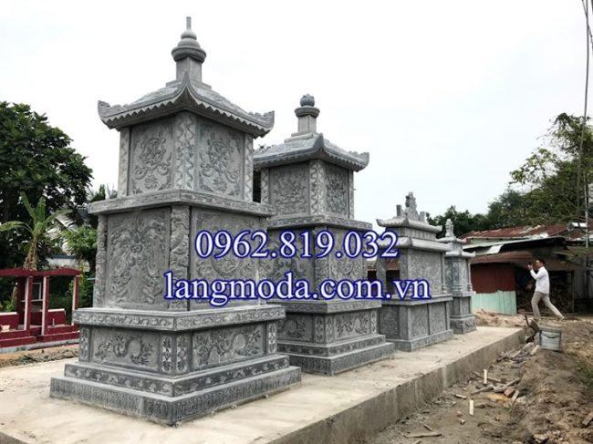 Mặt sau khu lăng mộ đá tại Sài Gòn - Hồ Chí Minh
