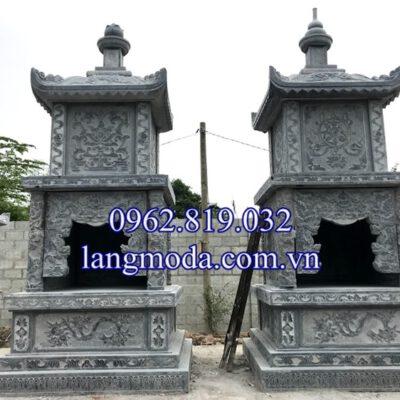 Xây mộ tháp đá để hài cốt tại củ chi - Sài Gòn