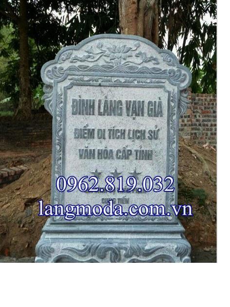 Mẫu bia đá di tích lích sử đẹp nhất Việt Nam