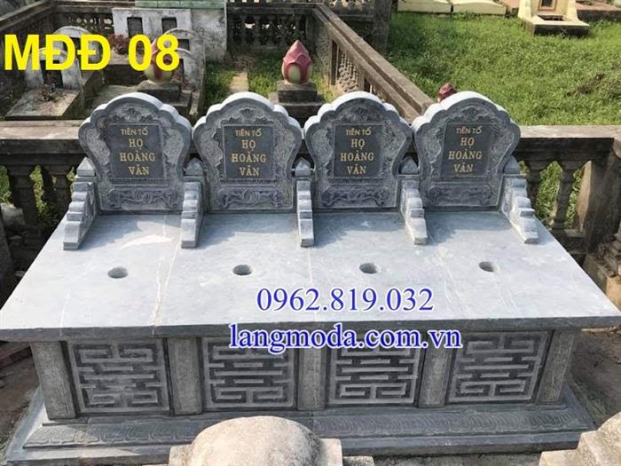 51 mẫu mộ đôi đẹp bằng đá xanh tự nhiên , Mộ đá đôi, Mộ đôi đẹp