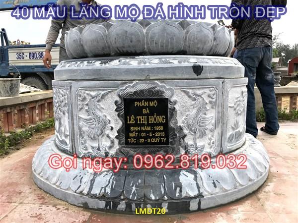 Diễn đàn rao vặt: Mua mộ đá tròn ở đâu giá cả phải chăng đảm bảo chất lượng 40-mau-lang-mo-da-hinh-tron-dep-kich-thuoc-lo-ban-phong-thuy-gia-re-20