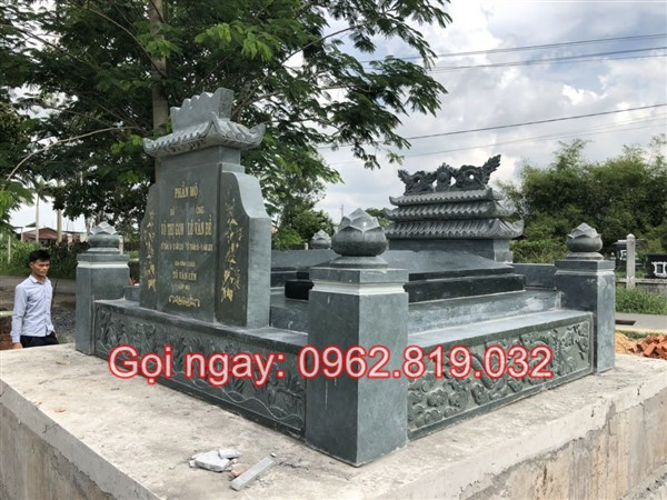 Cách đặt mộ đôi với nhiều mẫu xây đẹp đơn giản bằng gạch hoặc đá granite