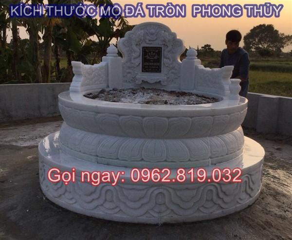 Diễn đàn rao vặt: Tại sao nên xây mẫu mộ tròn bằng đá cho ông bà cha mẹ  Kich-thuoc-mo-da-tron-01