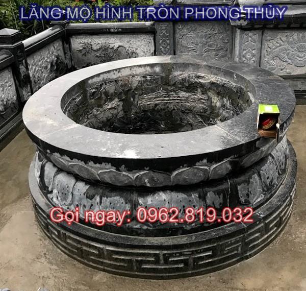 lăng mộ hình tròn