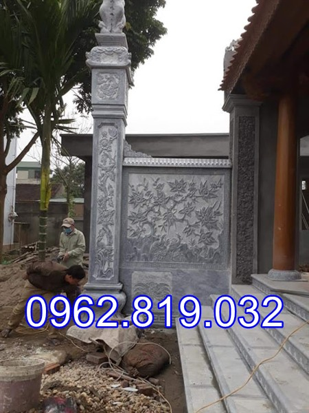 Cột đồng trụ nhà thờ họ 26 - Cột đá đồng trụ nhà thờ ho 26, Cột đồng trụ