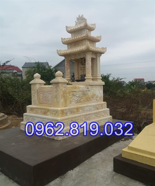 Mộ đá vàng nguyên khối tại Quảng Bình 22, Lăng mộ đá Quảng Bình, Lăng mộ đá khối giá rẻ tại Quảng Bình 22