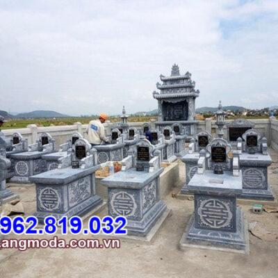 Mẫu khu lăng mộ gia đình đẹp - Thiết kế khu mộ gia tộc đẹp nhất 2021