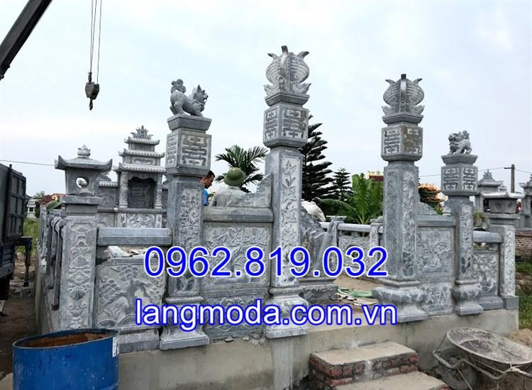 Lăng mộ đá tại Hải Dương được chế tác tại Ninh Bình 12