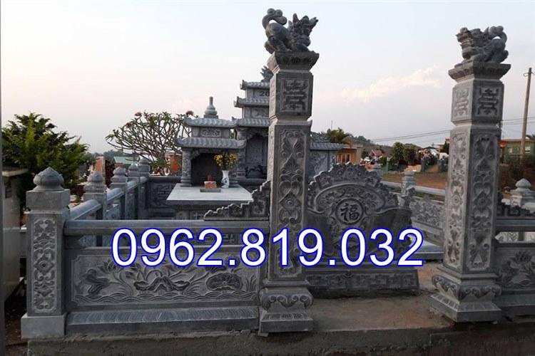 Lăng mộ đá lắp đặt Hải Phòng chế tác tại Ninh Bình, lăng mộ đá