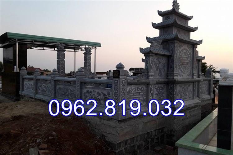 Mặt sau khu lăng mộ đá tại Hải Phòng, lăng mộ đá,