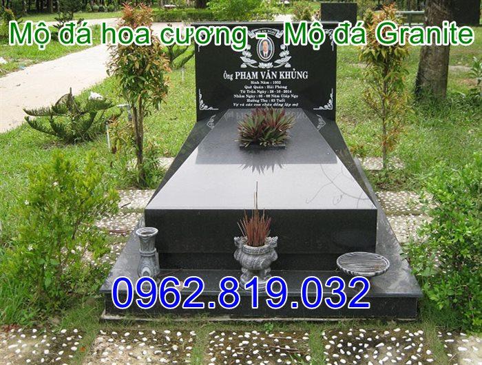32 Mẫu mộ đá hoa cương Granite nguyên khối cao cấp , Mộ đá hoa cương