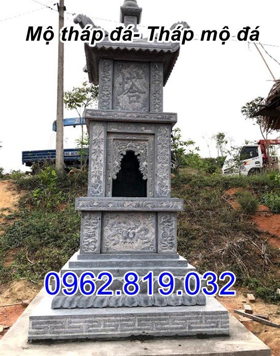 bán mẫu mộ tháp đá tháp mộ đá để hài cốt đẹp tại Bạc Liêu