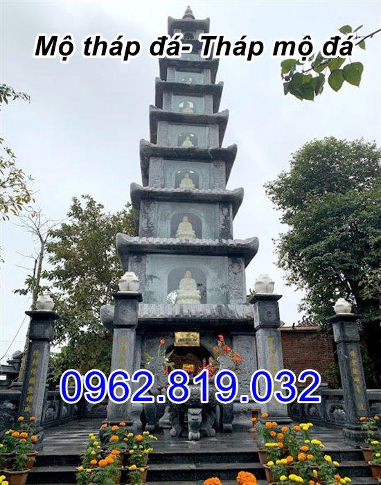 bán mẫu mộ tháp đá tháp mộ đá để hài cốt đẹp tại bến tre