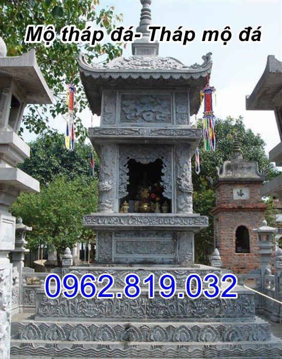 bán mẫu mộ tháp đá tháp mộ đá để hài cốt đẹp tại Bình Phước