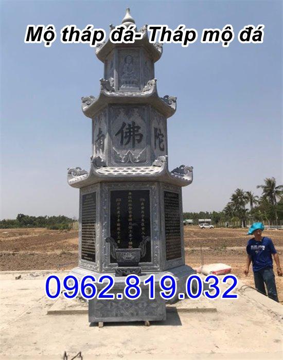 bán mẫu mộ tháp đá tháp mộ đá để hài cốt đẹp tại Cần Thơ