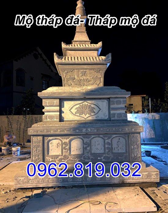 bán mẫu mộ tháp đá tháp mộ đá để hài cốt đẹp tại Long AN