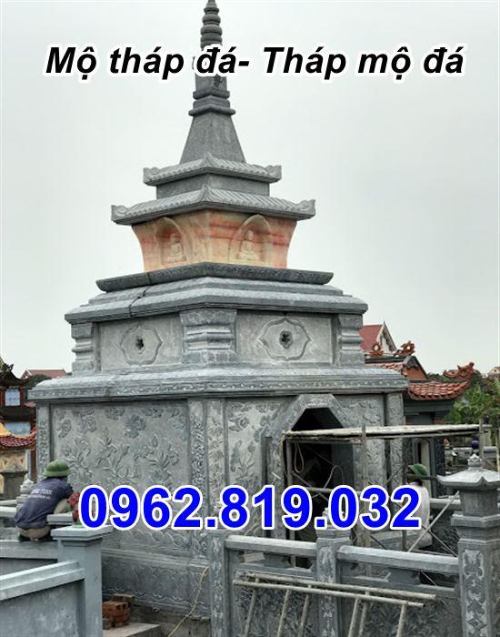 bán mẫu mộ tháp đá tháp mộ đá để hài cốt đẹp tại Quảng Ngãi