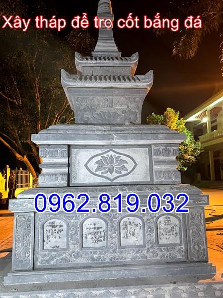 Xây ngôi tháp mộ để tro cốt bằng đá tại Hà Nội