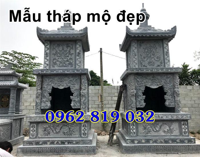 Mẫu tháp mộ đẹp để hài cốt bằng đá Bình Thuận