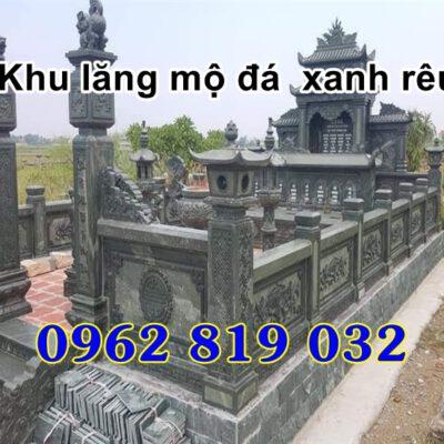 Khu lăng mộ gia tộc đẹp - Mẫu khu nhà mồ đẹp