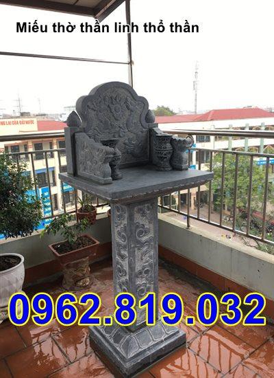 Mẫu bàn thờ thiên bằng đá - Mẫu bàn thiên đẹp