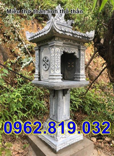 Mẫu miếu thờ sơn thần bằng đá 32 - Miếu thờ sơn thần đẹp