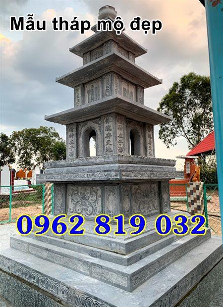 Mẫu tháp mộ đẹp để hài cốt bằng đá Tây Ninh