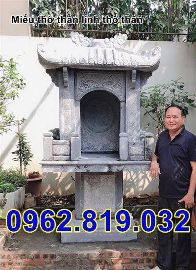 Miếu thờ thần linh đẹp bằng đá 32 - Miếu thờ thổ địa