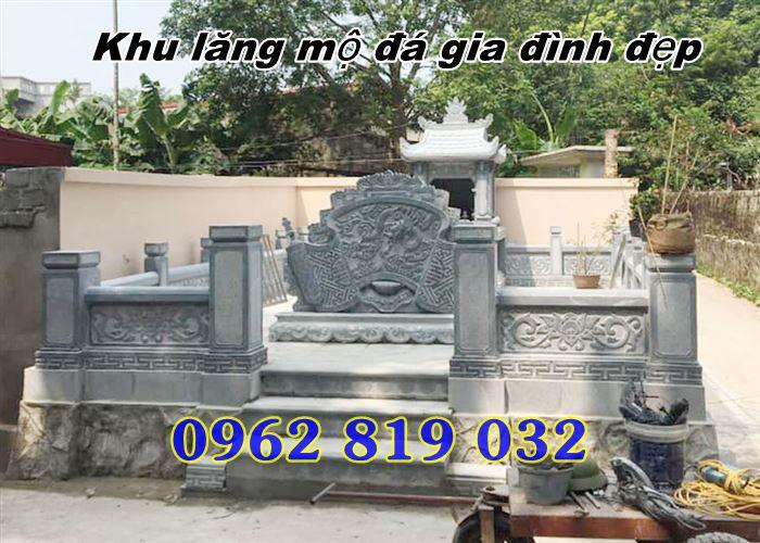 Tai sao nen xay khu mo gia dinh dep bang da Khu mo gia dinh tai Vinh Long