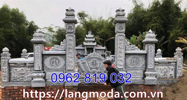Khu mộ gia đình tại bắc Giang