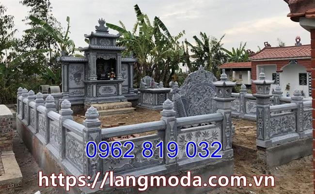 Xây dựng khu mộ gia đình - Lăng mộ gia đình đẹp