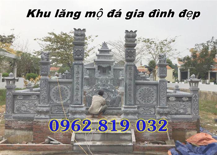 Khu mộ gia đình đẹp giá rẻ Long An