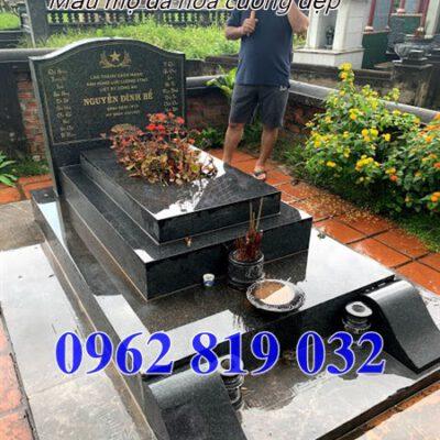 mẫu mộ đá hoa cương đẹp tại Đắk Lắk