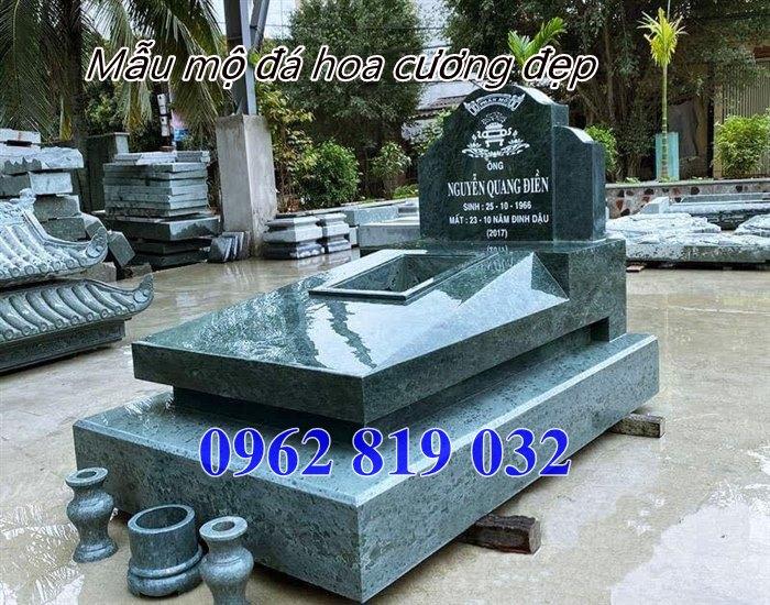 mẫu mộ đá hoa cương đẹp tại kom tum, mộ đá granite tại Kom Tum