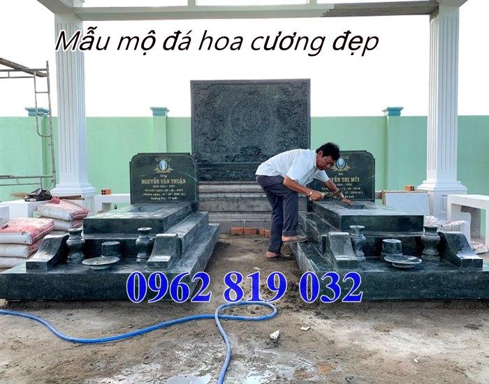 Mẫu mộ đá hoa cương đẹp tại Vũng Tàu, mộ đá granite vũng tàu