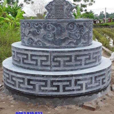 mẫu mộ đá tròn đẹp nhất