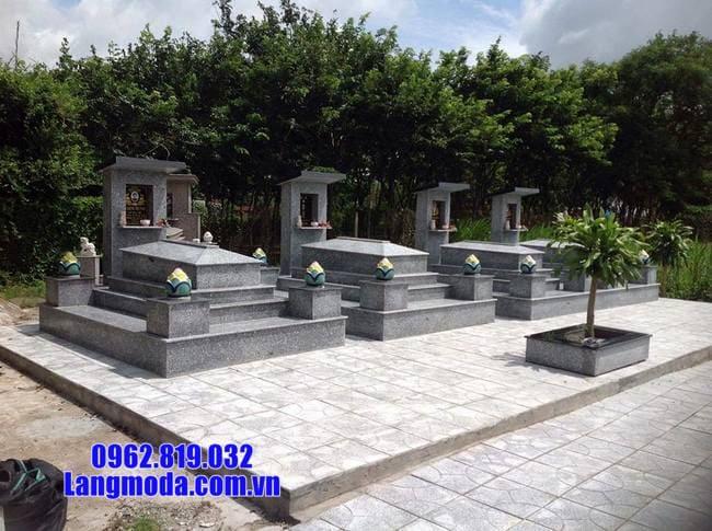 mộ bằng đá thiết kế đơn giản đẹp