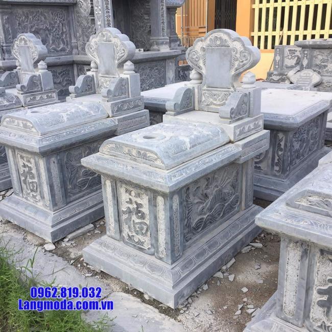 mộ bành đá đẹp nhất