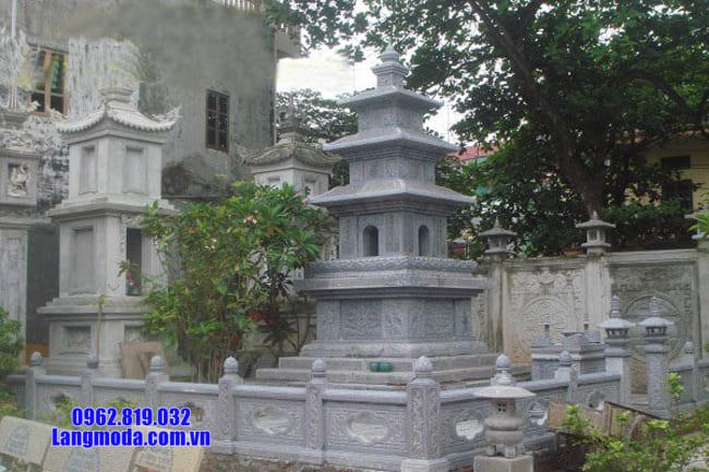mộ đá hình tháp đẹp nhất