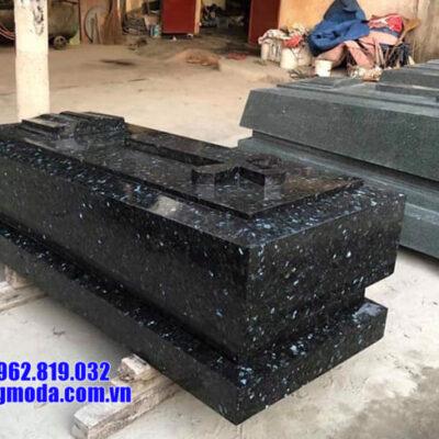mộ đá hoa cương nguyên khối