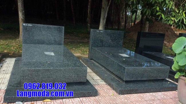mộ đá thiết kế đơn giản đẹp